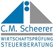 Wirtschaftsprüfung und Steuerberatung C:M. Scheerer Schweinfurt Logo
