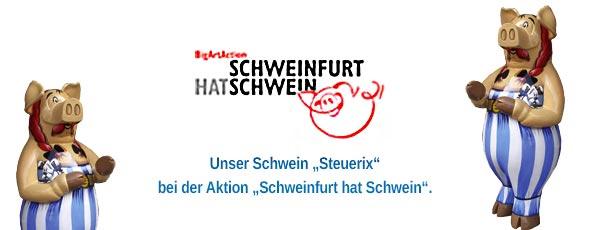 Schweinfurt hat Schwein